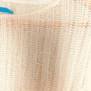 ALIICE AND OLIVIA LOOSE OPEN KNIT SWEATER